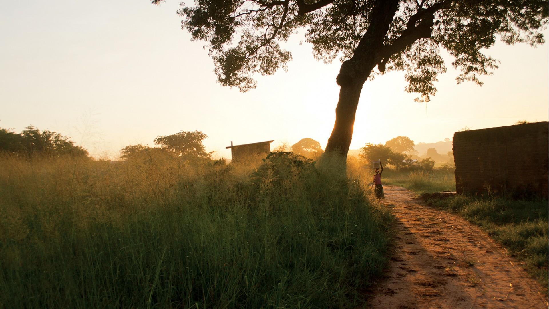 Draga, odšel sem v Zambijo